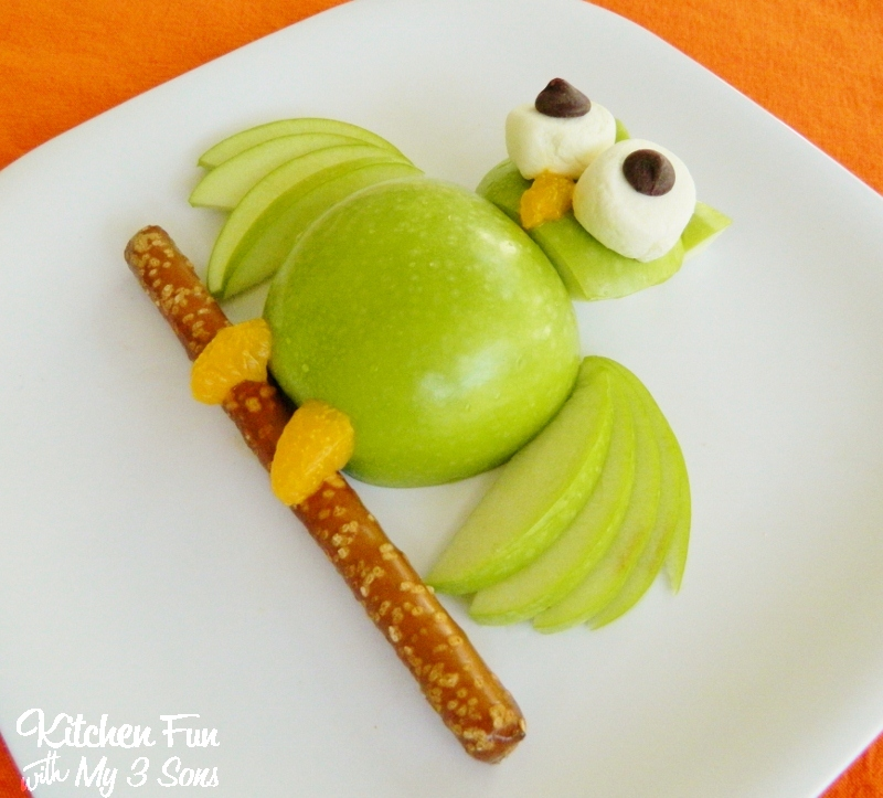 Apple Owl Hoot Hoot Eat Some Fruit Kitchen Fun With My 3 Sons