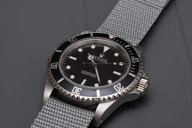 Rolex Submariner No Date Nato
