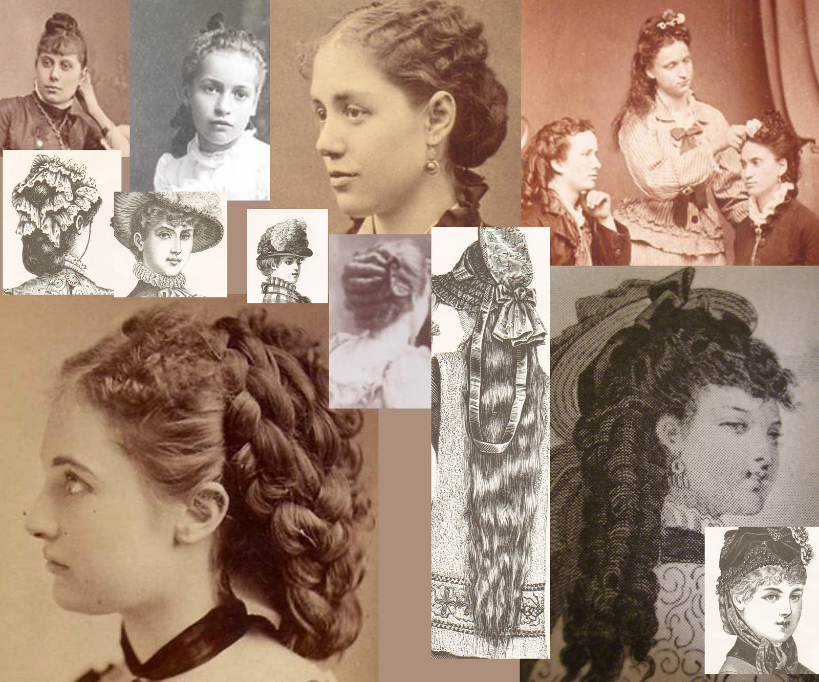 Mute the silence victorian hairstyles for Victorian style