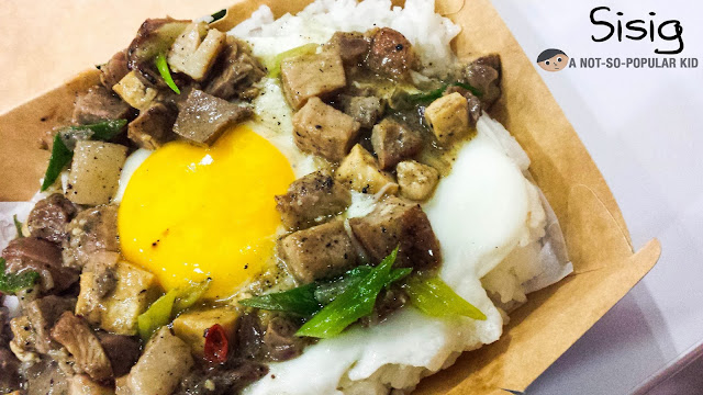 Sisig with a slight twist - a Dats Mix specialty