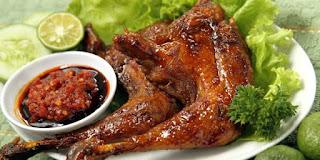 Resep Ayam Bakar Panggang Bumbu Rujak
