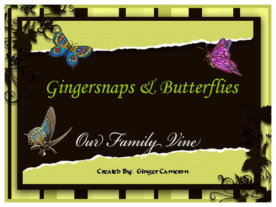 Gingersnaps and Butterflies