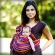 Maya Baby Wrap Carrier for Babywearing carrying