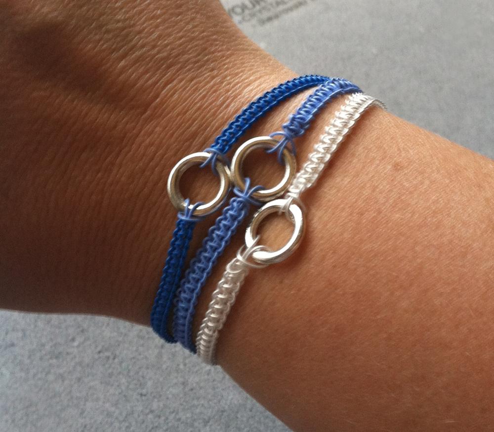 softflexgirl diy soft flex macrame 3 strand bracelet. Black Bedroom Furniture Sets. Home Design Ideas