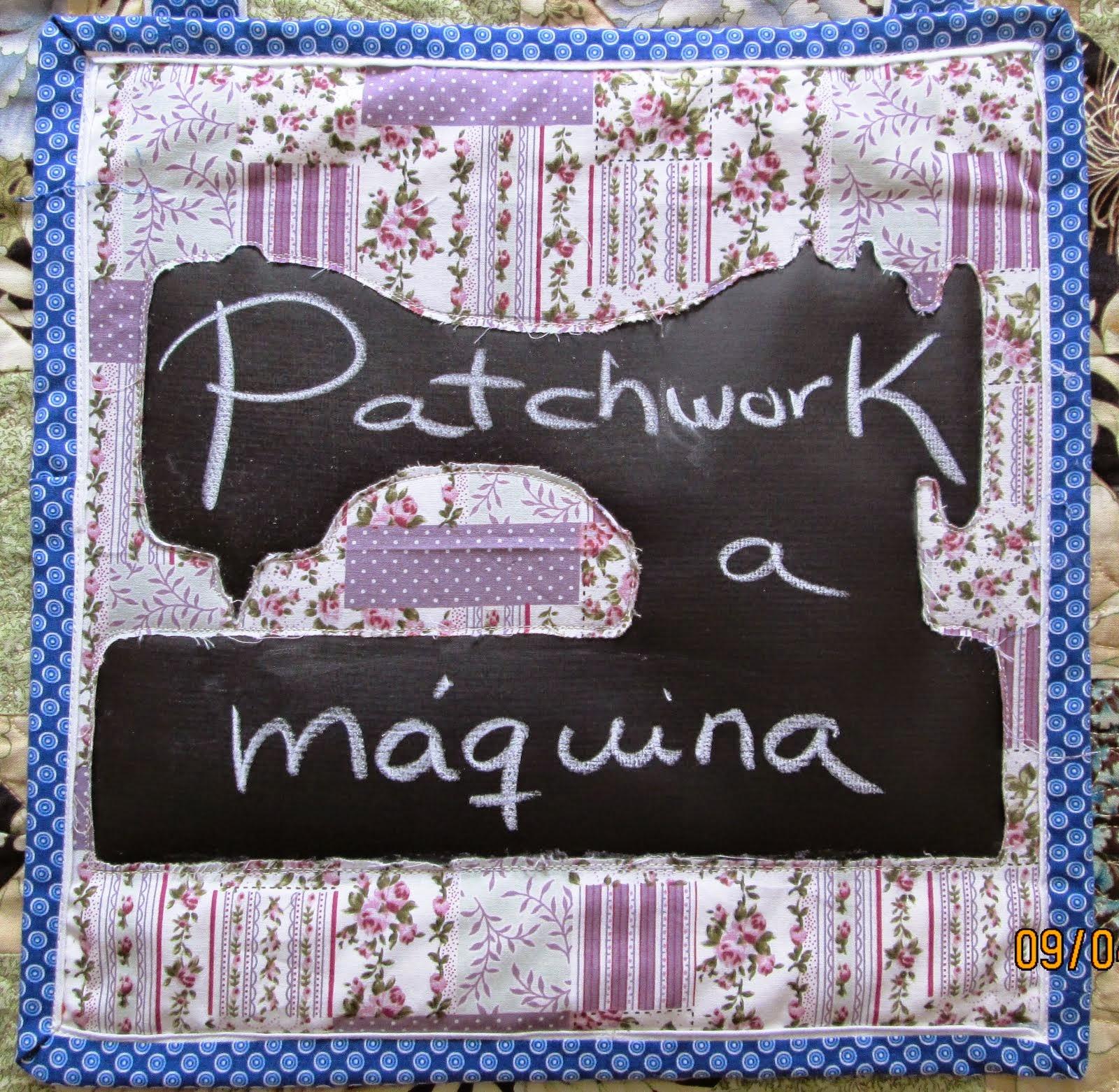 Patchwork  a máquina