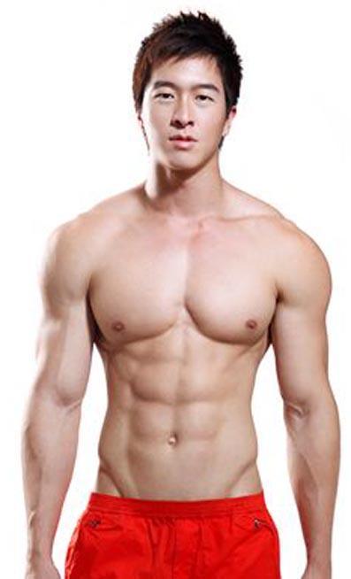 Singapore male model