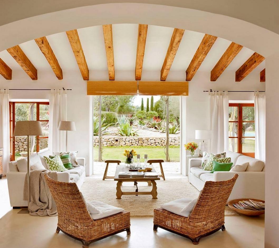 Lovely deco poutres et jolie hauteur sous plafond - Hauteur sous plafond standard ...