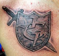 Iron Shield Tattoo