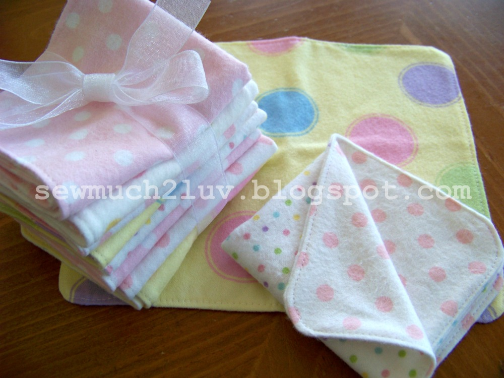 Using Cloth Baby Wipes