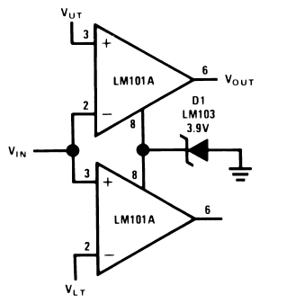 Double-Ended Limit Detector