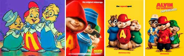 Película de Alvin y las ardillas, películas basadas en series de televisión