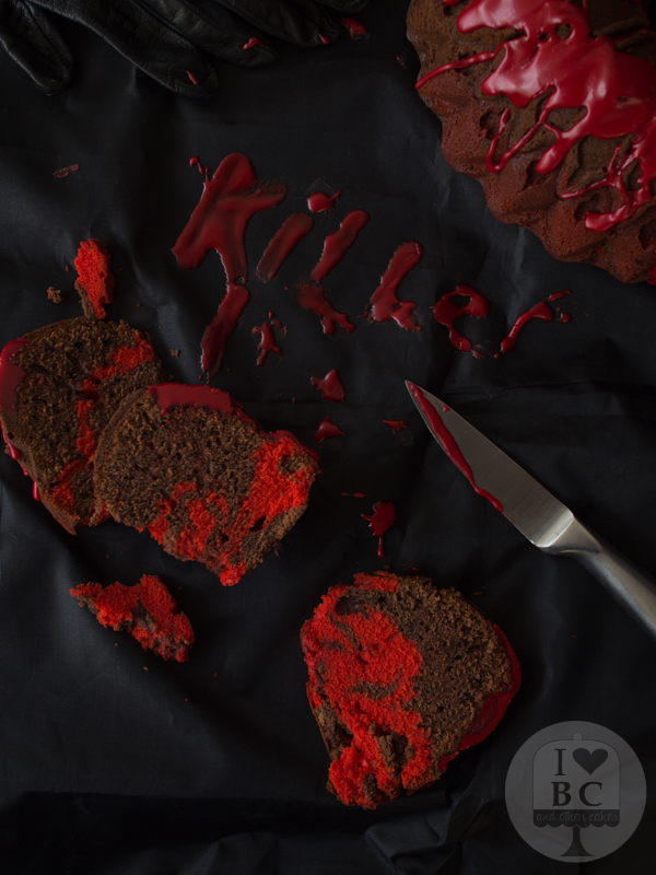 Bloody Bundt Cake