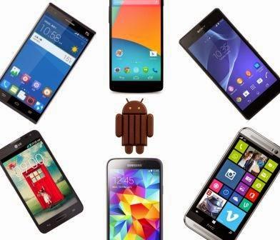 HP Android Terbaru dengan Sistem Operasi Android KitKat