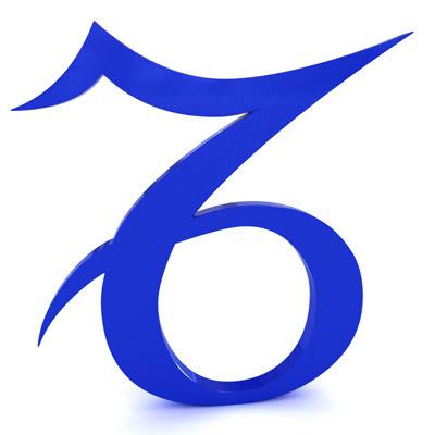 signo capricornio en simbolo