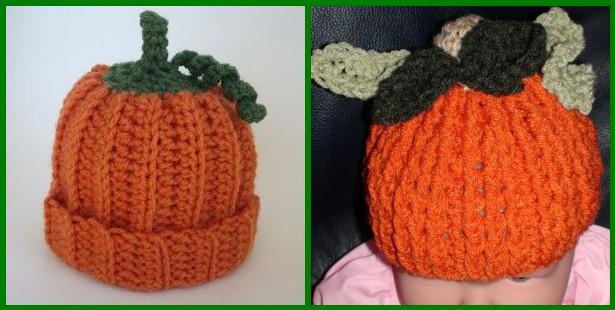 Clever Crafty Cookin Mama Little Pumpkin Hat