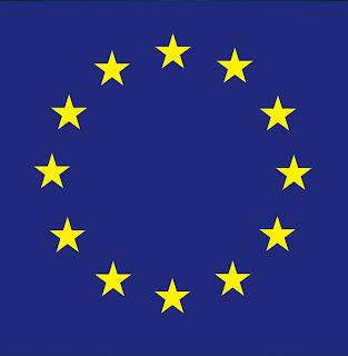 Enseña europa, corona estrellada