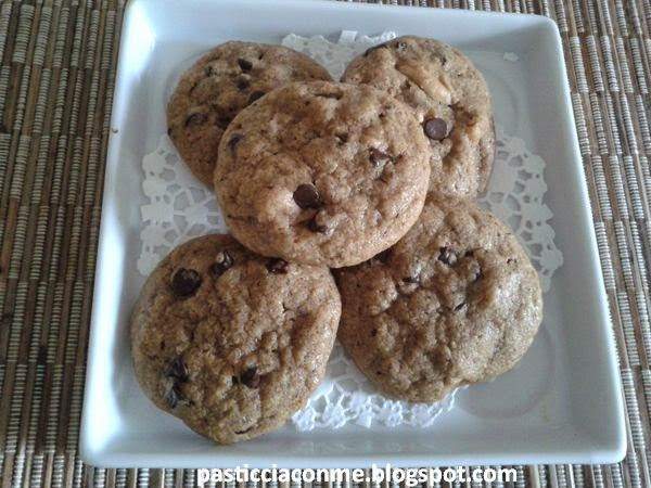 cookies al burro di arachide