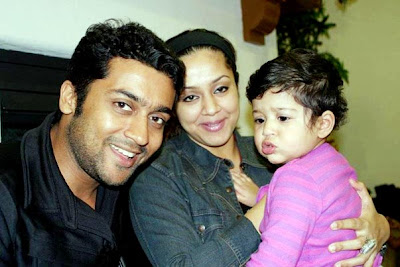 suriya's family