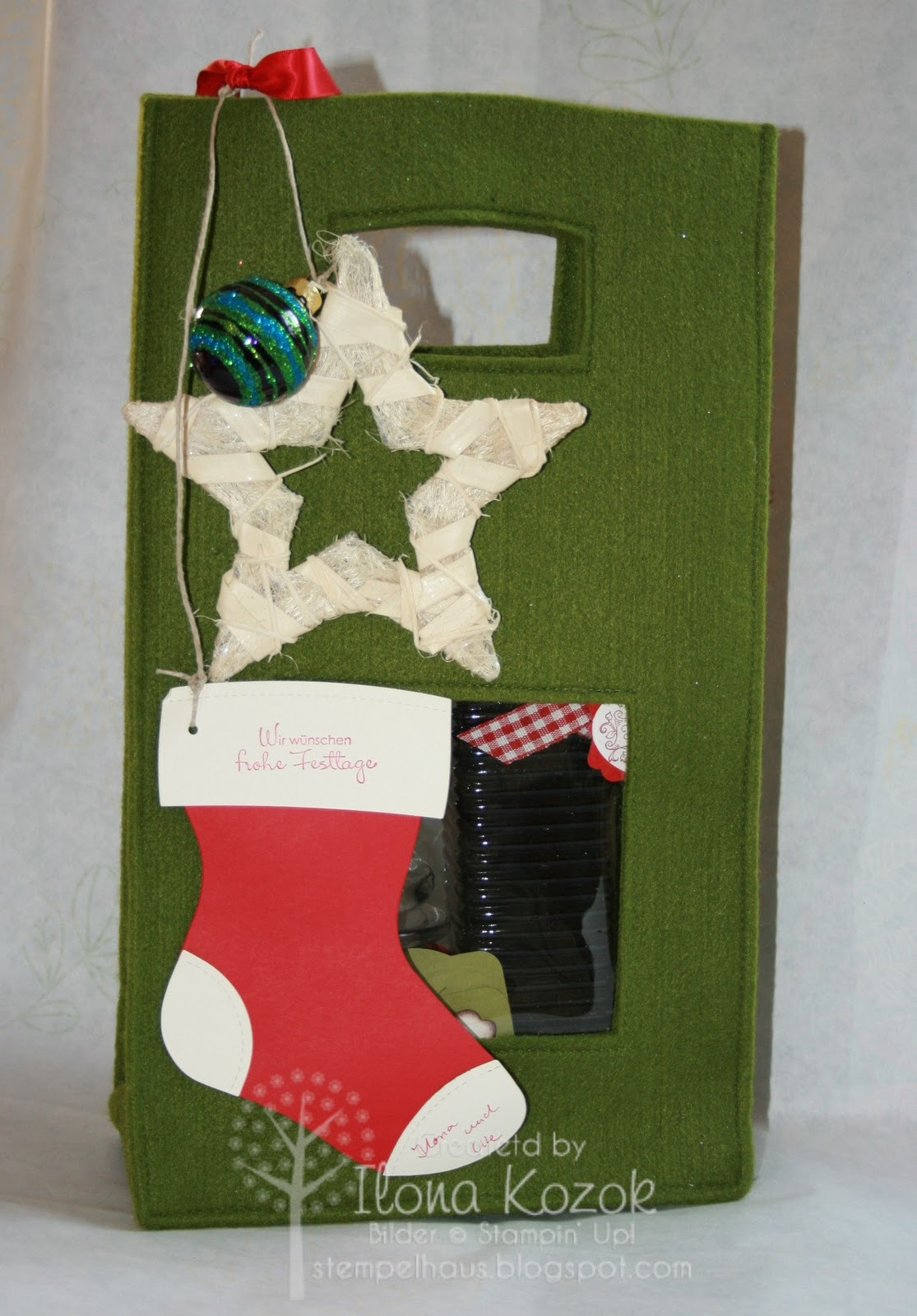 Stempelhaus: Weihnachtsfeier ...unser Geschenk