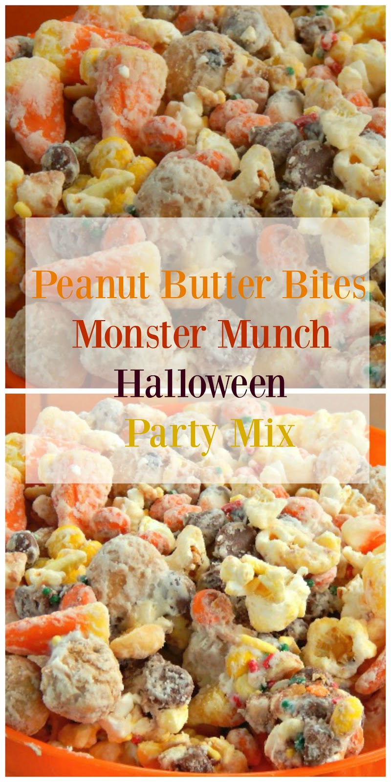 P.B. Bites Monster Munch Halloween Party Mix - This Ole Mom