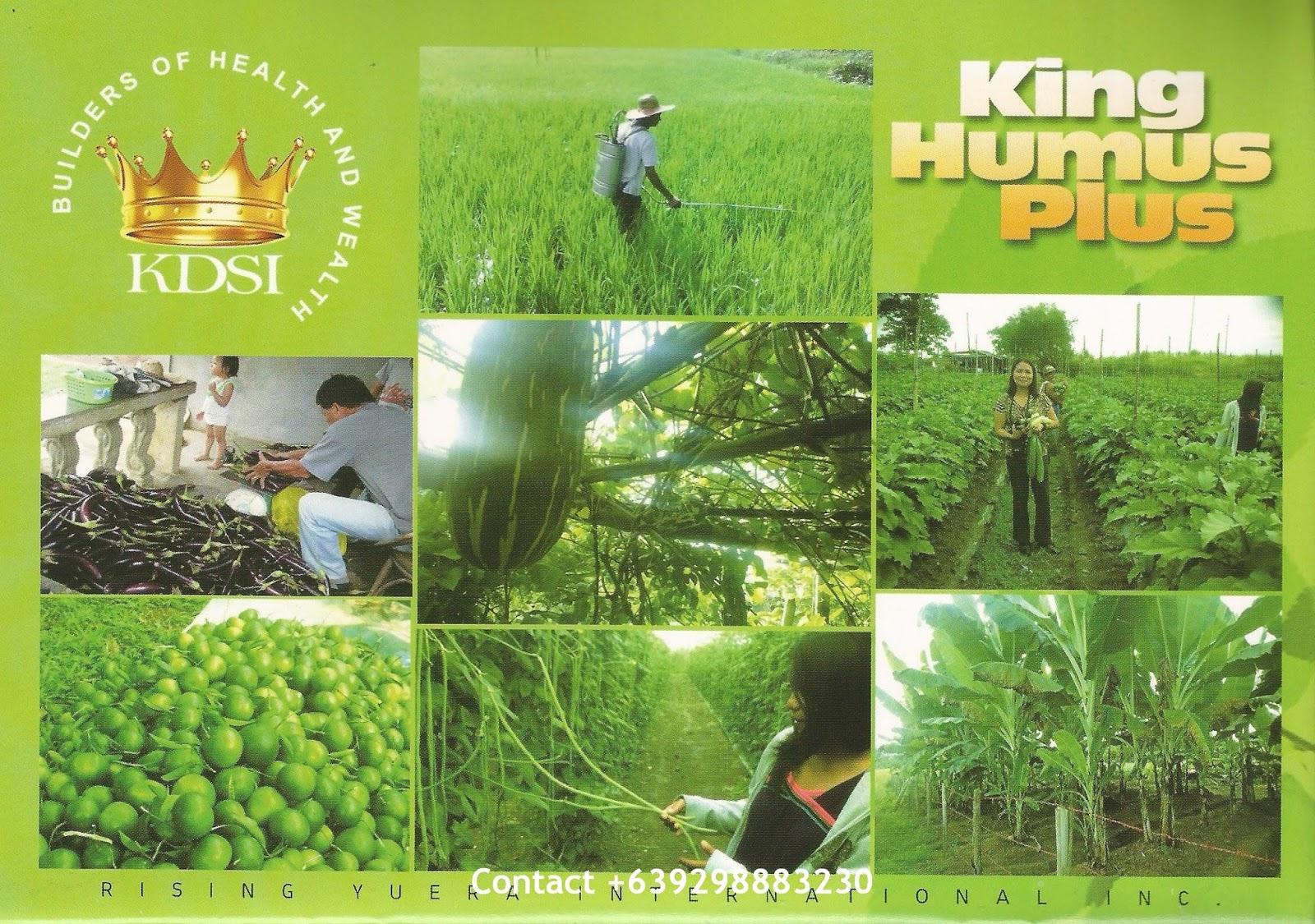 What is king humus plus king humus plus mobile no for Soil king productions