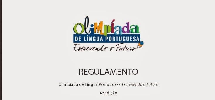 REGULAMENTO DA OLP - ESCREVENDO O FUTURO- 2014