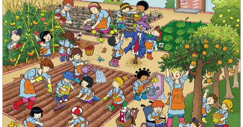 El rinc n del cole huerto escolar for Que es un huerto escolar