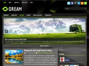 Dream - Free Wordpress Theme