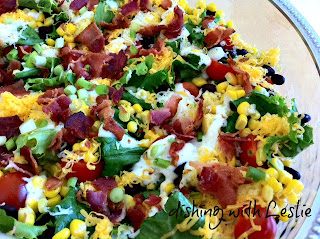 corn bread salad
