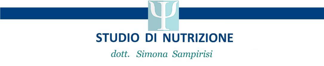 dott. Simona Sampirisi Biologa Nutrizionista e Tecnologa Alimentare, a Caltagirone,CATANIA, Sicily