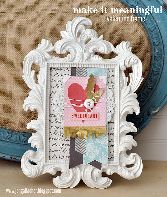 Valentine Frame by Jen Gallacher from www.jengallacher.com.