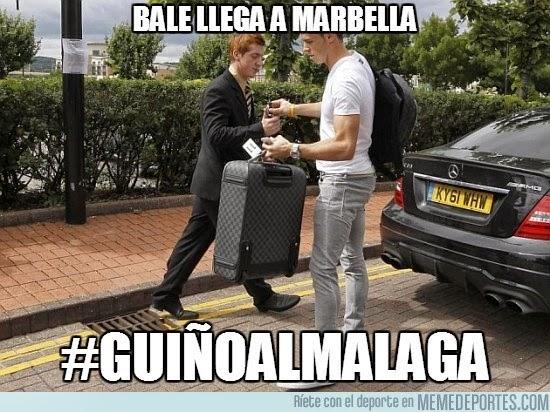 lesión Gareth Bale lesionado fichaje más caro historia hernia humor cachondeo bromas chorradas chistes guasa memes