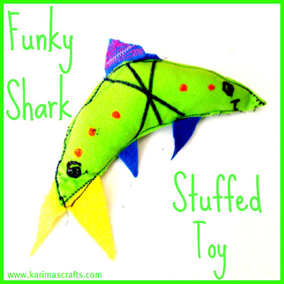 shark stuffed toy