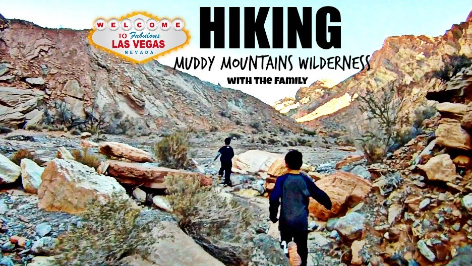 Hiking Muddy Mountains Wilderness - Las Vegas