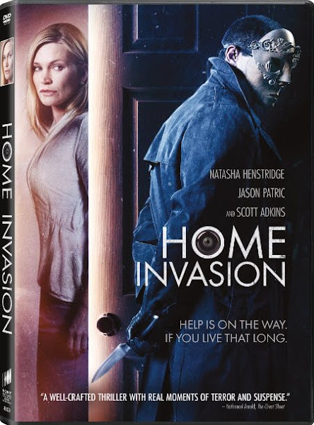 Poster of Home Invasion 2016 English DVDRip Full Movie Download