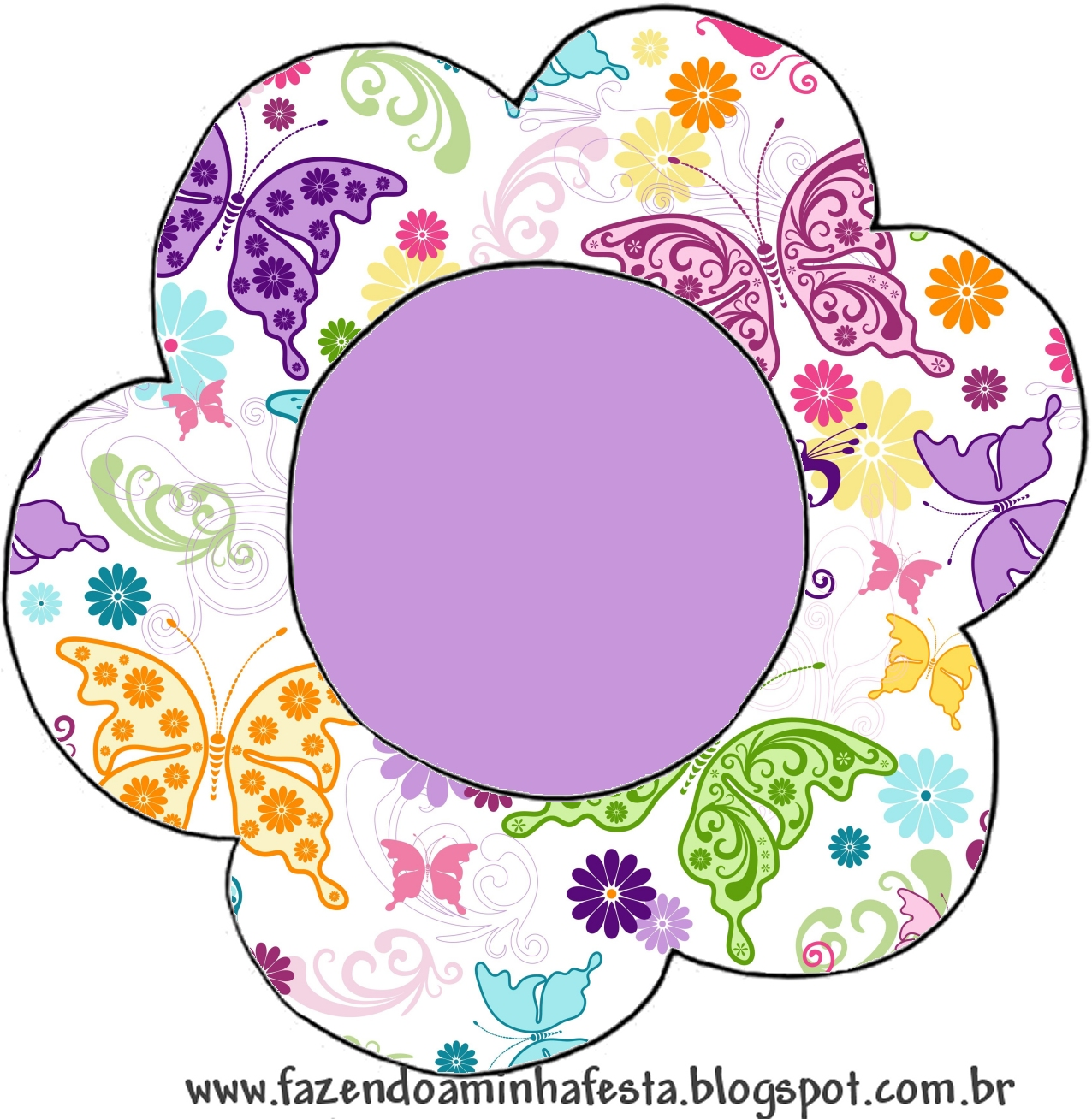 moldes decorados e molde limpo de flor topper para cupcakes
