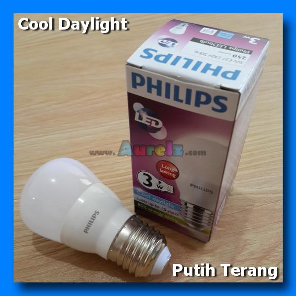 lampu led philips 3 watt cool daylight