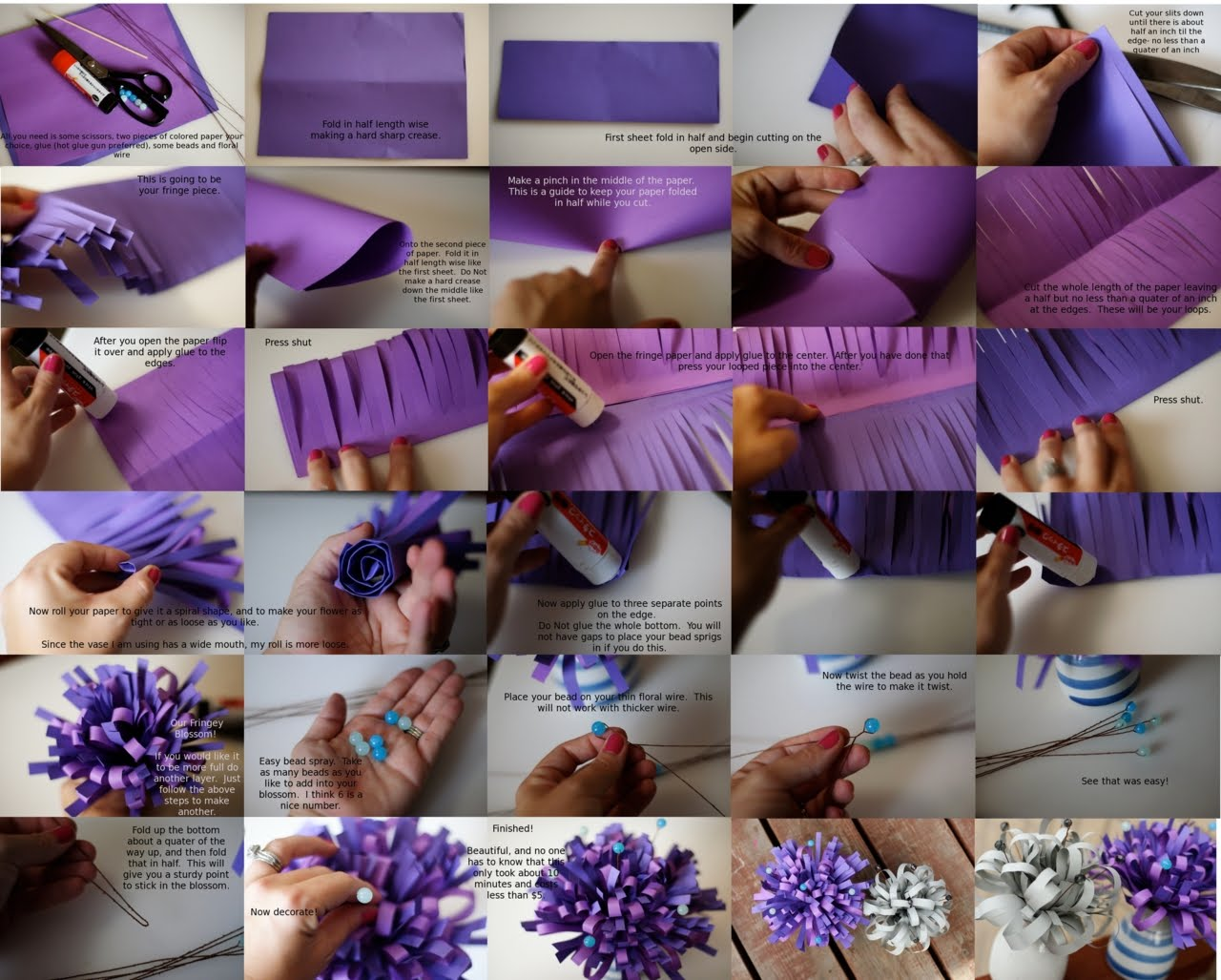 Pocket wonders diy paper flower centerpieces diy paper flower centerpieces mightylinksfo