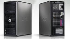 built-up dell optiplex 280 tower uberma komputer branded bekas murah