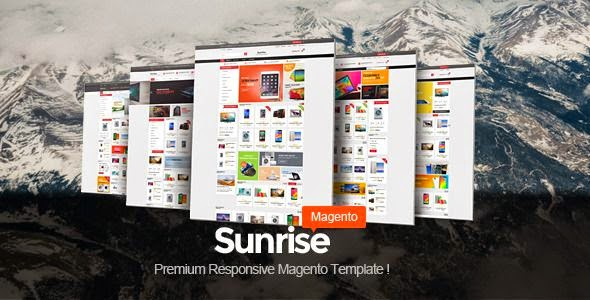 Responsive Magento Digital Themes