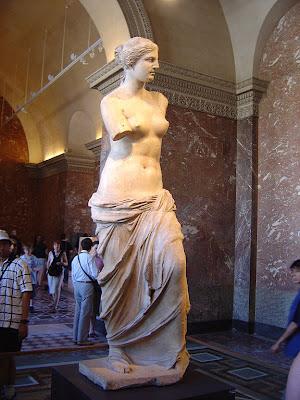 Escultura de Vênus de Milo (Afrodite)