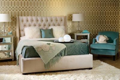 paredes elegantes en dormitorios