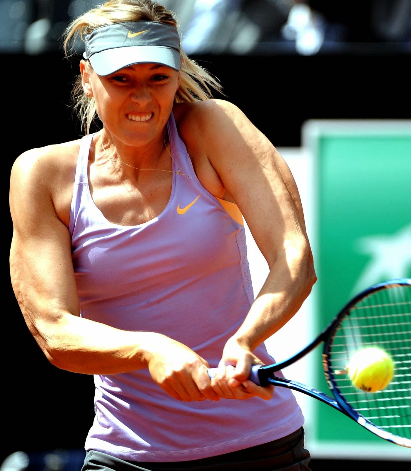 Ana Ivanovic, Foro Italico, Maria Sharapova, Rome, Rome Masters Tennis, Rome Masters Tennis 2014, Sports, Tennis, Tennis Star,
