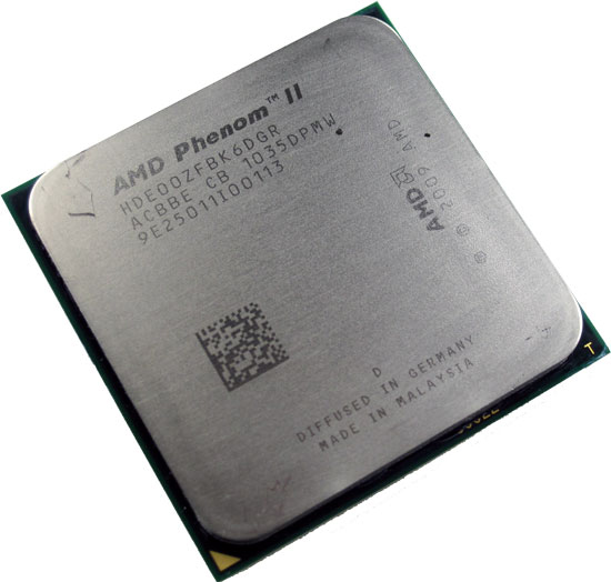 Hexa Core CPU AMD Phenom II X6 1100T