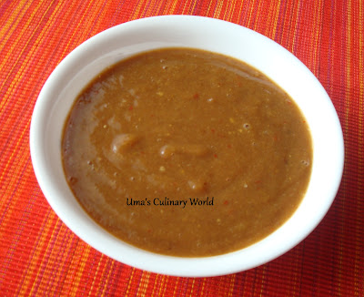 khajur or dates chutney
