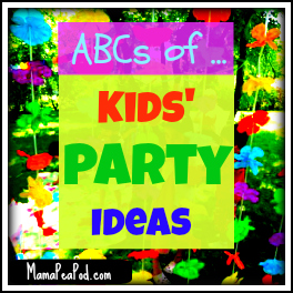 Mama Pea Pod: {ABCs of Kids' Party Ideas - Party Themes from F to J
