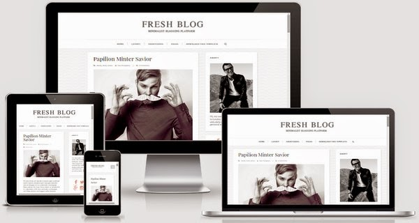 Fresh Blog Responsive Blogger Template Free Download