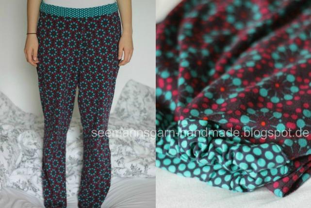 Pyjama-Hose nähen • Seemannsgarn - handmade