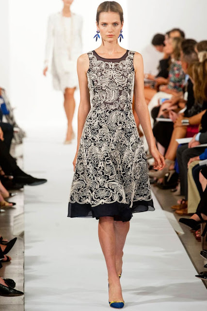 new york fashion week oscare de la renta