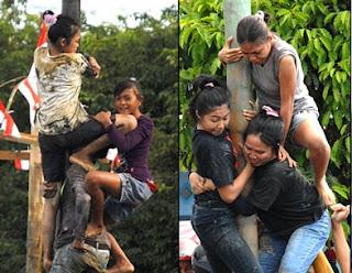 lomba panjat pinang untuk wanita indonesia